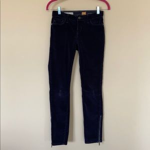 Pilcro & the Letterpress Stet Navy Corduroy Pants
